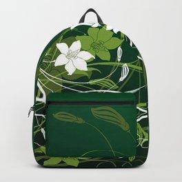 Art Flowers V15 Backpack