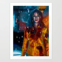 kill bill Art Prints featuring Kill Bill by JackCat