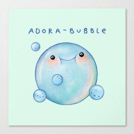 Adora-Bubble Canvas Print