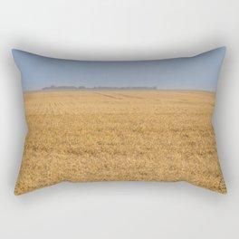 Harvest Near Garrison, ND 8 Rectangular Pillow
