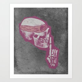 Dead Quiet Art Print