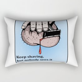 There will be blood Rectangular Pillow