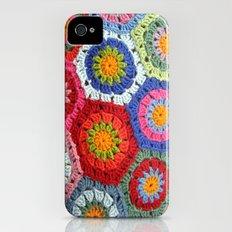 Crochet 1 Multi iPhone (4, 4s) Slim Case