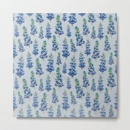 Blue Bonnets Metal Print