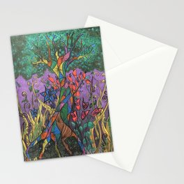 Silver Winter Stationery Cards