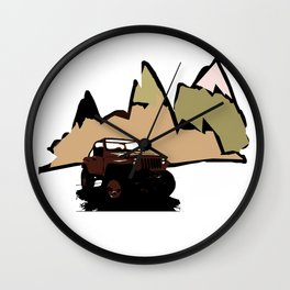 Jeeping It!  Wall Clock