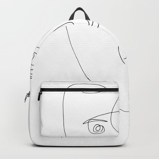 Face of wire Backpack