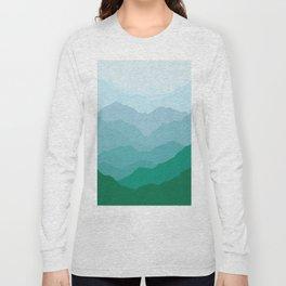 Geometric Landscape VII Long Sleeve T-shirt