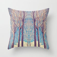 The nature of symmetry  Throw Pillow