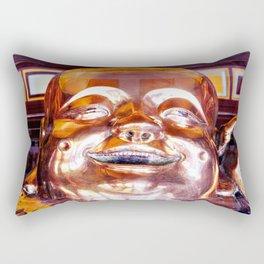 Shiny, Happy Buddha  Rectangular Pillow