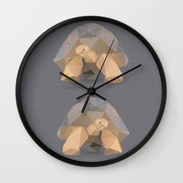Giant Tortoise.  Wall Clock