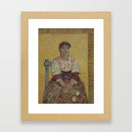 The Italian Woman Framed Art Print
