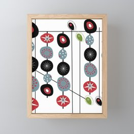 Mid-Century Modern Art Atomic Cocktail 2.0 Framed Mini Art Print