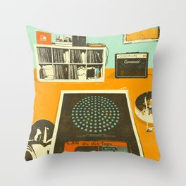 TAPE PARTY Throw Pillow