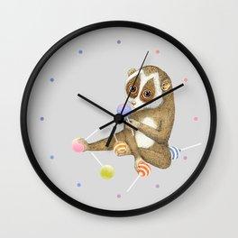 Loris Wall Clock