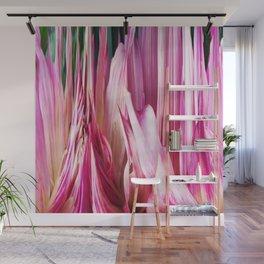 448 - Abstract Flower Design Wall Mural