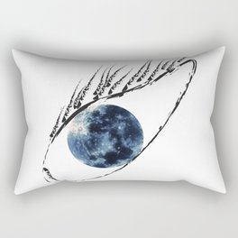 The moon in your eyes Rectangular Pillow