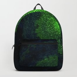 green galaxy Backpack