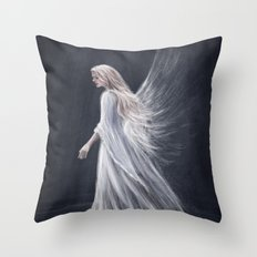 We Make Our Own Wings Throw Pillow