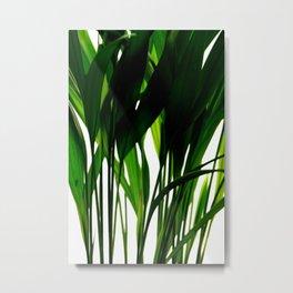 Abstract fresh leaves - Organic Photography  Metal Print
