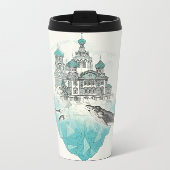 st peters-burg Metal Travel Mug