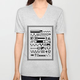 Blood On The Wall Unisex V-Neck