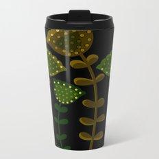 Flower D Metal Travel Mug
