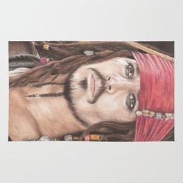 Captain Jack Sparrow Rug