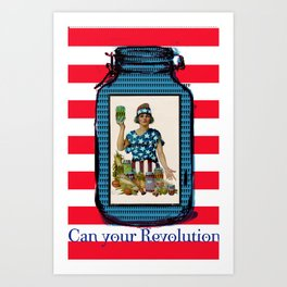 Can your Revolution Art Print