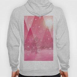 Magic winter pink Hoody