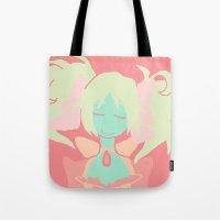 madoka Tote Bags featuring Madoka Magica by Serene World