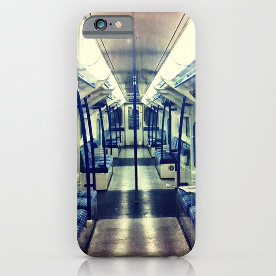 Empty tube- Victoria Line iPhone & iPod Case