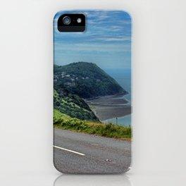 Lynmouth Bay, Devon, England iPhone Case