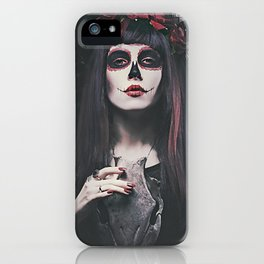 Catrina Day of the Dead iPhone Case