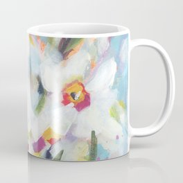 Little White Daffodils Coffee Mug