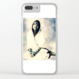 Sri Ma Anandamayi - Hindu Saint - for Blessings and Protection Clear iPhone Case