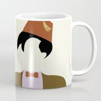 fez Mugs featuring Trust Me I Wear a Fez by 2hootsdesign