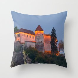 Nightscape 06 Throw Pillow
