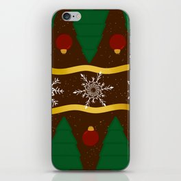 Christmas Pattern iPhone Skin
