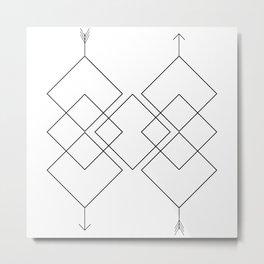 Aim High Metal Print