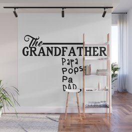 The Grandfather Wall Mural