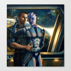 Mass Effect - Always here for you. Canvas Print