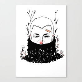 Cold Days Canvas Print