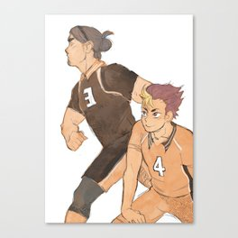 Ace + Libero Canvas Print