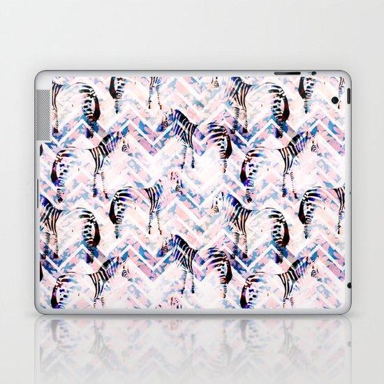 Zebras in bloom Laptop & iPad Skin