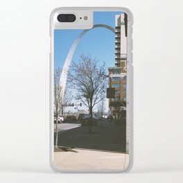 St. Louis Streets Clear iPhone Case
