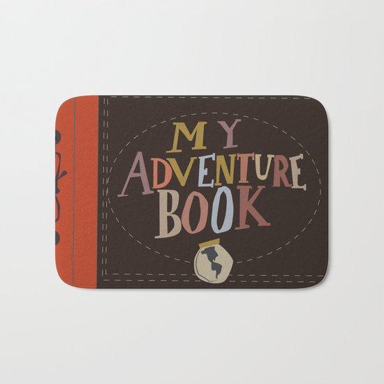 my adventure book.. up, carl and ellie Bath Mat