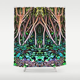 Forest Princess Shower Curtain