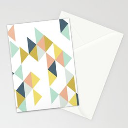 Modern Geometric Design Stationery Cards