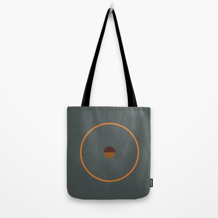 catch || anthracite & ocher Tote Bag